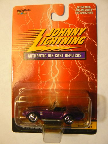 (Johnny Lightning Authentic Die-Cast Replicas Shelby Cobra 427 Purple)
