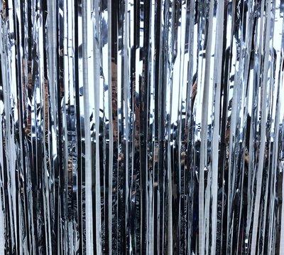 Xiaolanwelc 1Pc Glitter Foil Tinsel Fringe Party Curtain Door Rain Wedding Decoration Background