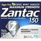 Zantac 150 Tablets Cool Mint - 24 ct