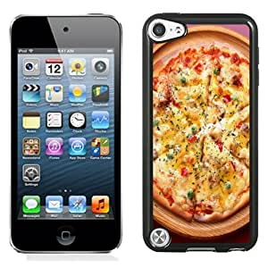 NEW DIY Unique Designed iPod Touch 5th Generation Phone Case For Tasty Pizza Phone Case Cover