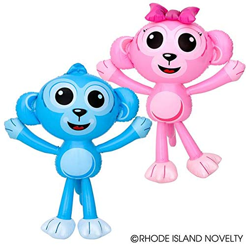 Monkey Inflatable 24 - Two Adorable Inflatable Baby Monkeys 24