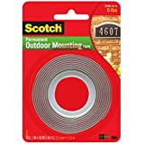 3M Scotch 4011 Exterior Mounting Tape, 1 in x 60 in