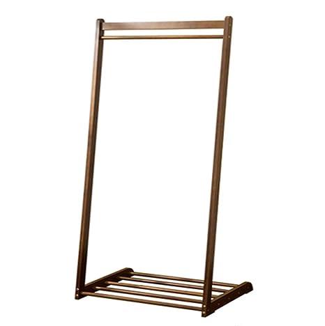 Perchero Perchero De Bambú Piso Dormitorio Percha Salón ...