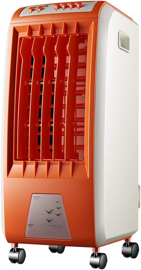Ventiladores MEIDUO 65W Aire evaporativo Aire Acondicionado Aire móvil Naranja Oscilación Función: Amazon.es: Hogar