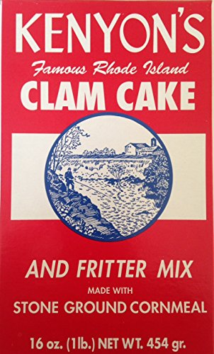 KENYON CORN MEAL COMPANY Mix Clam Cake And Fritter, 16 Ounce made in Rhode Island