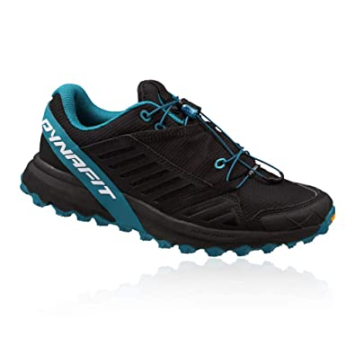 Dynafit Womens Alpine Pro Trail Running Shoes Black Out/Malta 6