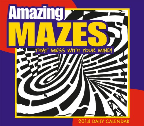 Amazing Mazes That Mess With Your Mind 2014 Boxed/Daily