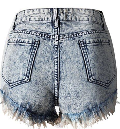 Pants Hot Irrgulier Ourlet Haute Haute Denim Holiday Taille Coton Cat Clair Shorts Ladies Bleu Shorts Couleur Nightclub Beautisun Shorts 1 Bleu Denim Taille Et Rtro Shorts Denim wI0qA7nxt