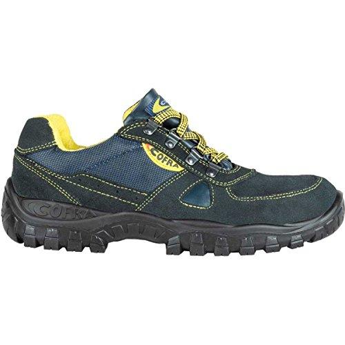 Cofra TA130�?00.w47Arbeit Schuhe, Azimut, Größe 12, Blau/Schwarz