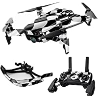 MightySkins Skin for DJI Mavic Air Drone - Race Flag | Max Combo Protective, Durable, and Unique Vinyl Decal wrap cover | Easy To Apply, Remove, and Change Styles | Made in the USA