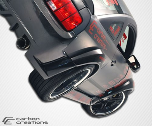 2005-2009 Ford Mustang Carbon Creations Hot Wheels Wide Body Rear Fender Flares - 2 ()