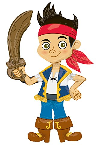 Anagram International Jake and the Neverland Pirates Air Walker, Multi-Color ()