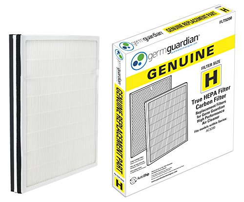 GermGuardian Air Purifier Filter FLT9200 GENUINE True HEPA Replacement Filter H for AC9200WCA Germ Guardian Air Purifier