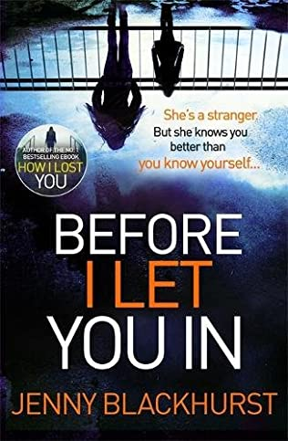 book cover of Before I Let You In