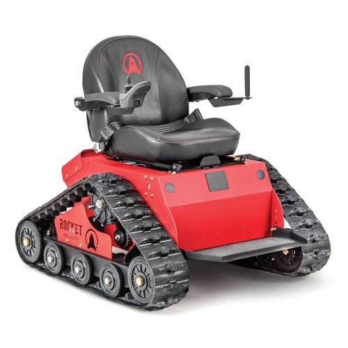 Rocket Mobility®'s Tomahawk All-Terrain Tracked Wheelchair