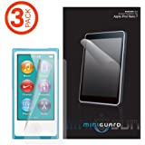 MiniGuard iPod Nano 7 or 8 / 7th or 8th Gen High Definition Ultra Clear Screen Protector 3 Pack for iPod Nano 7 or 8 / 7th or 8th Genth Gen / 7 or 8 / 7th or 8th Genth Generation (Newest Model)