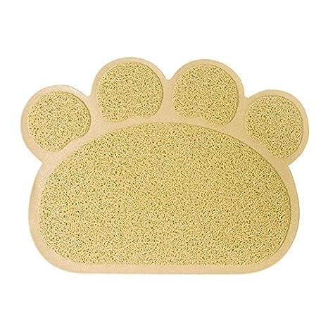 lzndeal Mascota Perro Cachorro Gato Mat Pad Paw PVC Cama Limpiar Mantel Limpio Mascotas Accesorios: Amazon.es: Hogar