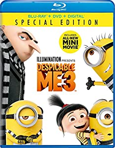 Cover Image for 'Despicable Me 3 [Blu-ray + DVD + Digital]'