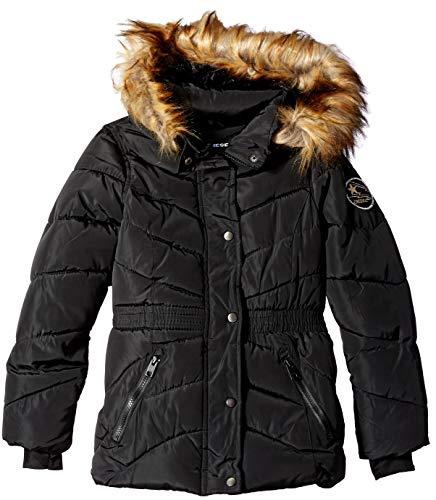 - Diesel Girls' Toddler Jacket, Black, 4T