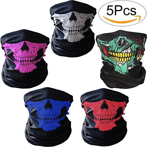 Motorcycle Skull Face Mask - 9