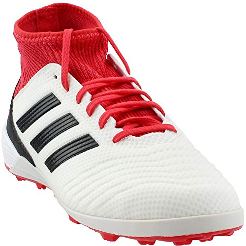 (adidas Performance unisex-Mens Ace Tango 18.3 TF, White/Core Black/Real Coral, 6.5 M US)