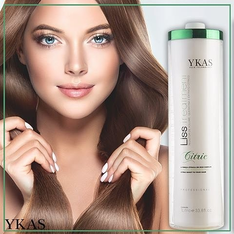 Y-Kas Citric Liss Treatmet Brazilian Keratin Hair Straightening Smoothing System Progressive Brush 1L by Y-KAS (Image #6)