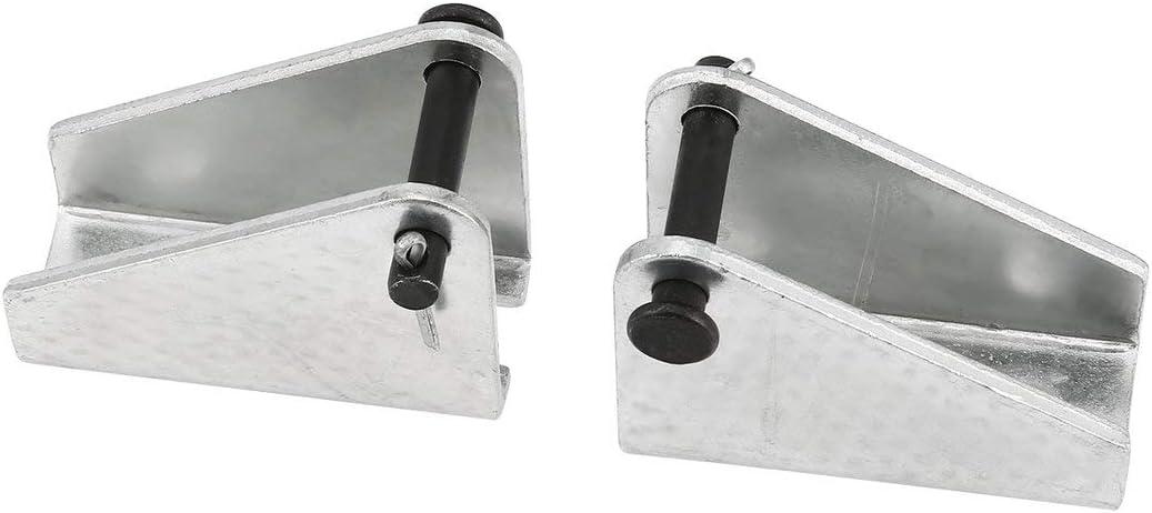 Rouku Motor de Varilla de Empuje el/éctrico de 2 Piezas Soporte de actuador Lineal de Servicio Pesado Motor rec/íproco de CC Soporte de Montaje port/átil