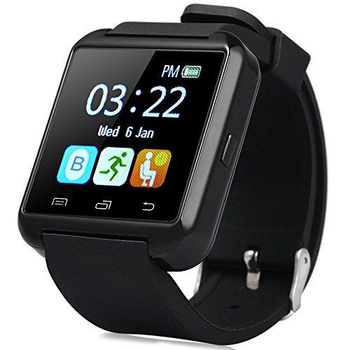 Leopard-Shop-U8s-Outdoor-Sports-Smart-Watch-Bluetooth-30-Cmara-a-distancia-color-negro