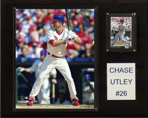 Player Mlb Phillies (MLB Chase Utley Philadelphia Phillies Player Plaque)