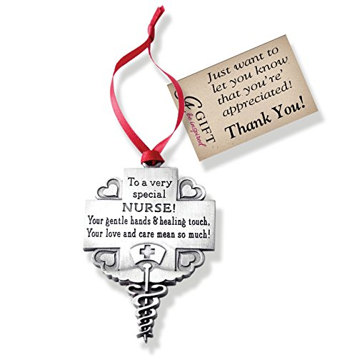 - Cathedral Art CO764 Nurse Occupation Ornament, 2-1/4-Inch
