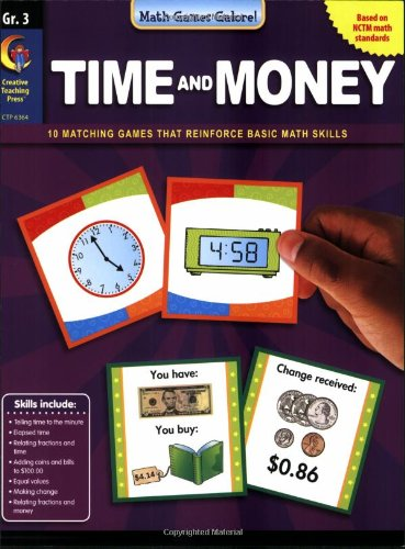 Download Time & Money, Gr 3 - Math Games Galore PDF