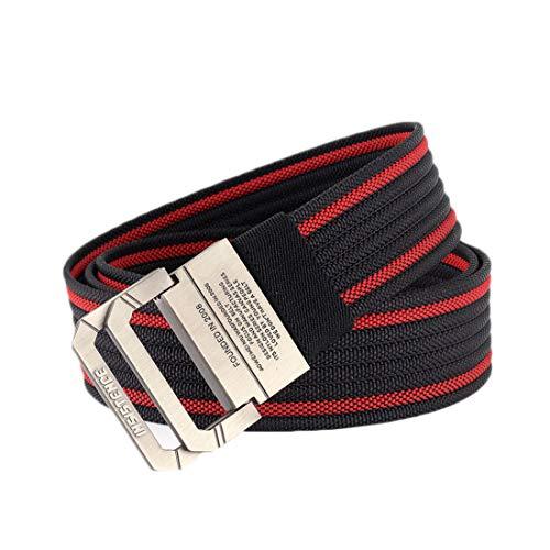 Inlefen Cinturón táctico de deportes al aire libre para hombre Unisex para mujer Blet de seguridad Blet de golf Durabilidad...