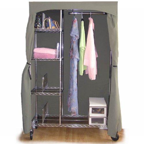 Premium Portable Wardrobe Closet W/ USA Made Cover