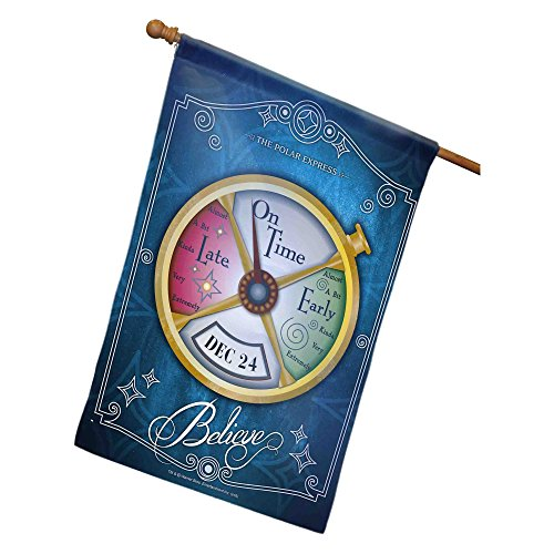 Lionel The Polar Express Conductor's Pocket Watch House Flag]()