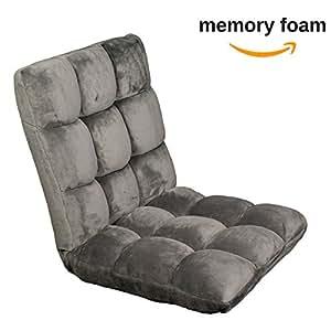 Amazon Com Memory Foam Sofa Chair Folds To Floor Video