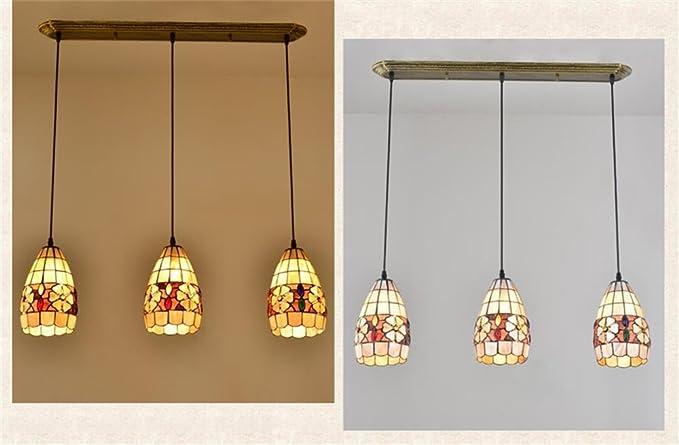 Lampadari E Plafoniere Tiffany : Tiffany lilsn mediterranea europea creativa arti pastorale
