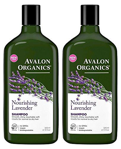 Avalon Organics Nourishing Shampoo Lavender, 11 Oz (Pack of 2) Avalon Organics Nourishing Shampoo