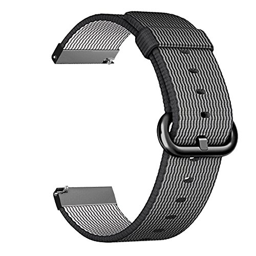 Cheap Smart Watch Bands Gear S3 Frontier / Classic Watch Band, Fintie 22mm Soft Woven Nylon..