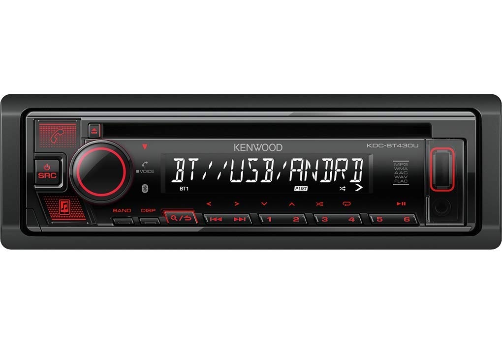 CD//MP3//USB Autoradio Radio Kenwood KDC-BT430U JUST SOUND best choice for caraudio Einbauset f/ür Renault Megane /& Scenic 1 Bluetooth Spotify Einbauzubeh/ör
