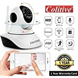 Colitive® Wireless HD IP WiFi CCTV Camera for Home/Office Security, 128 GB SD Card Supported, 360 Degree View, Night Vision