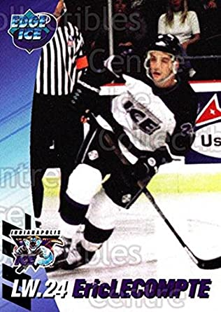 Amazon com: (CI) Eric Lecompte Hockey Card 1995-96