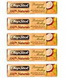 [FIVE PACK] ChapStick® 100% Naturals Lip Balm, Botanical Medley