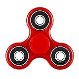 CASOFU Tri-Spinner Fidget Spinner Toy Stress Reducer Ceramic Bearing - ...
