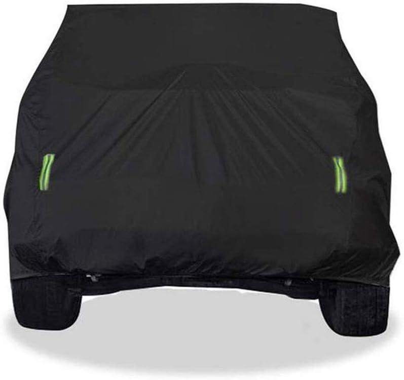 A-SRHY Housses pour auto,B/âche Voiture Jeep Cherokee Sp/écial Couverture De Voiture SUV /Épais Oxford Tissu Sunscreen Imperm/éable /À Leau Ext/érieure /À La Poussi/ère Couverture Voiture,B/âche Auto