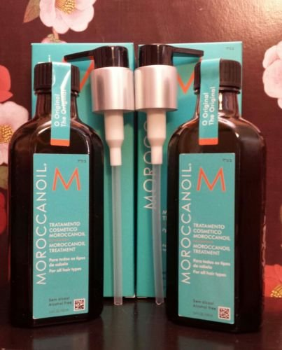 Moroccan Oil Hair Treatment 3.4 Oz.(100ml) Pack of 2 Health Care Family by Health Care Family