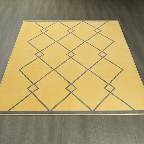 Ottomanson Studio Collection Diamond Trellis Design Area Rug, 8'2