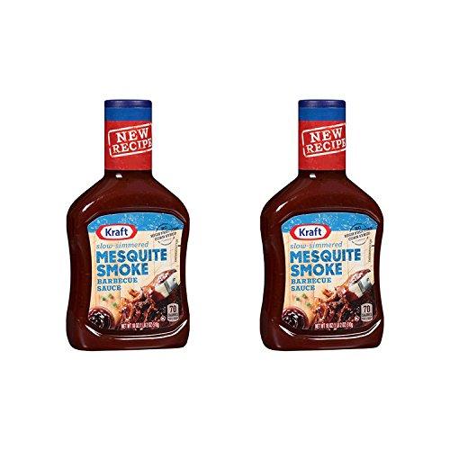 Kraft BBQ Sauce Mesquite Smoke 18oz 2 Pack by Kraft