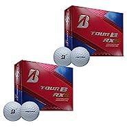 Bridgestone Tour B RXS Golf Balls (2 Dozen) 2017 2 Dozen White