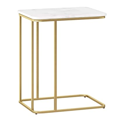 Amazon.com: ZHIRONG Accent Table Also Used for Bedside Table ...