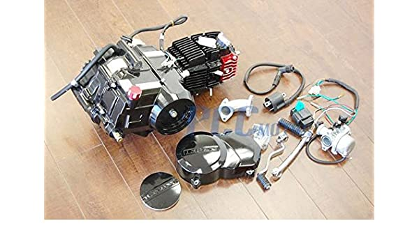 amazon com lifan 125cc semi auto 4 speed, manual clutch, 4 up motor Lifan 125Cc Wiring Harness amazon com lifan 125cc semi auto 4 speed, manual clutch, 4 up motor engine w dress up kit xr50 crf50 xr 50 70 crf70 z50 ct set lifan 125d en20 set